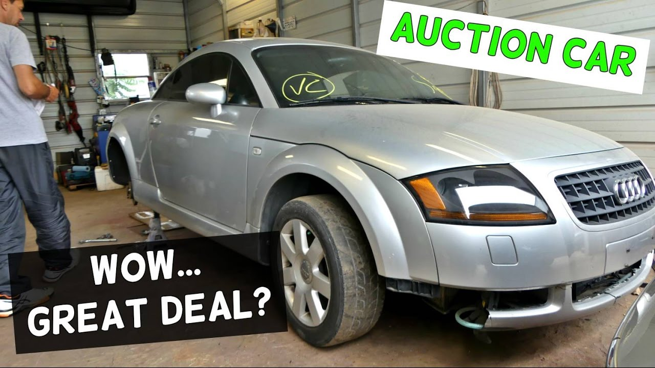 AUDI TT TURBO From COPART CAR AUCTION YouTube - Audi car auctions