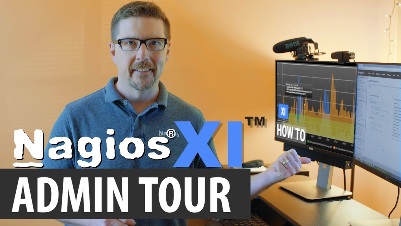 Nagios XI Tour - Admin Section - Dauer: 12 Minuten