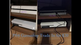 New Ps4 Slim Trade In By Gamestop For About $20
