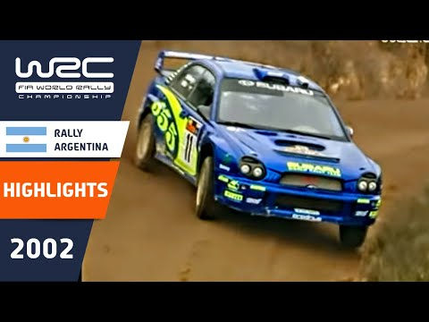 WRC Daily Highlights: Argentina 2002 Day 3: 26 Minutes