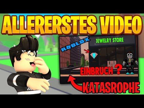 Ich REAGIERE auf meine ERSTEN Videos auf YT!   Roblox/Deutsch
