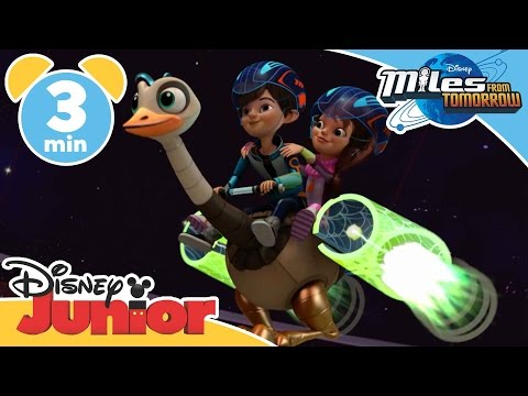Miles From Tomorrow | Power This Spaceship | Disney Junior UK