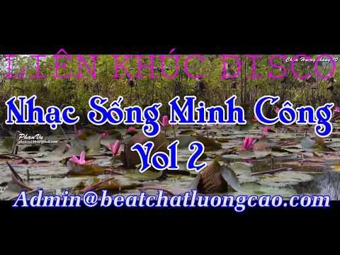 LK DISCO EM ĐI CHÙA HƯƠNG Karaoke | LK Nhạc Sống Minh Công Vol 2 | Beat chất lượng cao | Nhạc tết