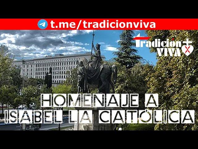 Discurso de Javier Pérez Roldán en el acto de homenaje a Isabel la Católica 2021