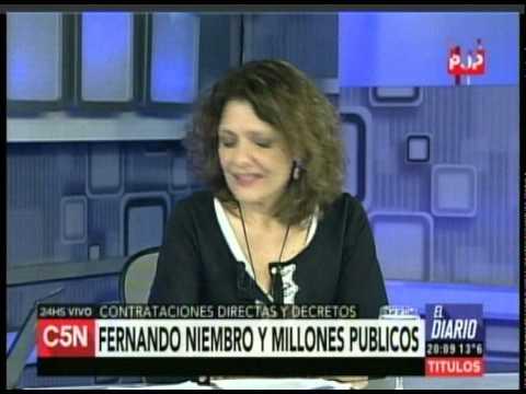 C5N - Politica: Entrevista a Gabriela Alegre