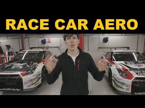 Race Car Aerodynamics - Nissan GT-R Nismo GT3