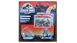 Jurassic Park Die Cast Plesiosaurus and Iguanodon