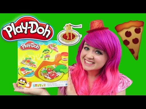 Play-Doh Pizza Party   TOY REVIEW   KiMMi THE CLOWN