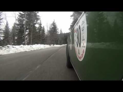 Histo Monte 2011, etage3-Team mit Lancia Fulvia 1,3 S Tag4 Clip01