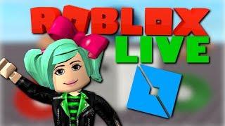 Playing games YOU made! Roblox LIVE SallyGreenGamer