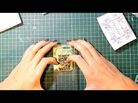 Открытка шейкер с окошком Tutorial CAS Shaker Card with Simon Says Stamp Dies and Stamps