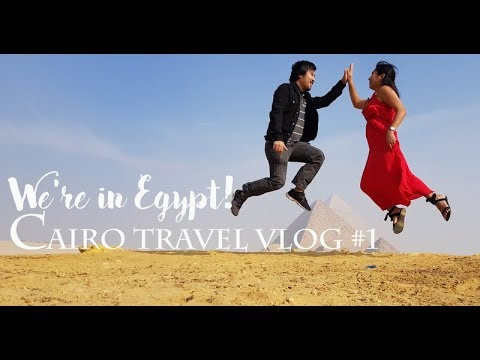 Cairo Travel Vlog #1: The Pyramids! Finally!
