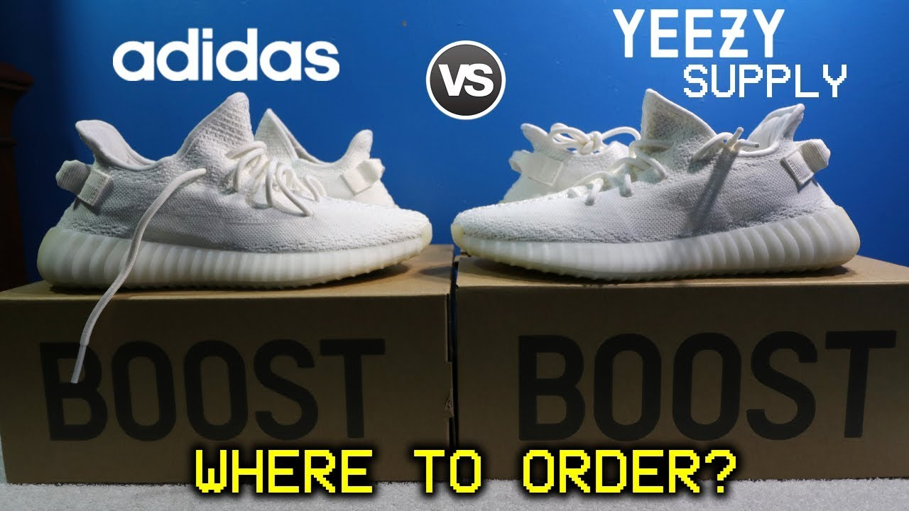 46ef24c9728 Where You Should BUY YEEZYS? (Adidas vs Yeezy Supply) Shipping  Time/Experience