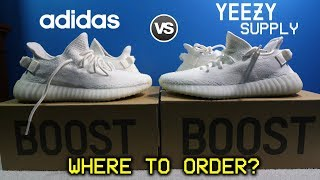 Where You Should BUY YEEZYS? (Adidas vs Yeezy Supply) Shipping Time/Experience