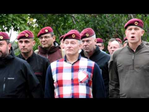 Fallskärmsjägarnas dag Ceremoni i Karlsborg