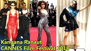 Kangana Ranaut Looks Chic l Cannes Film Festival 2018 Red Carpet