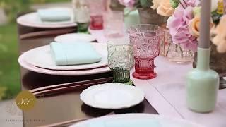 ديكورات مائدة عيد الأضحى بألوان الباستيل الجميلة من روتانا حضراوي
