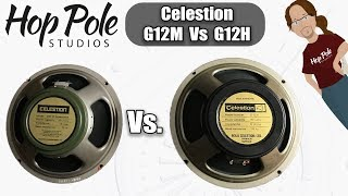 G12M vs G12H - Celestion Greenback comparison