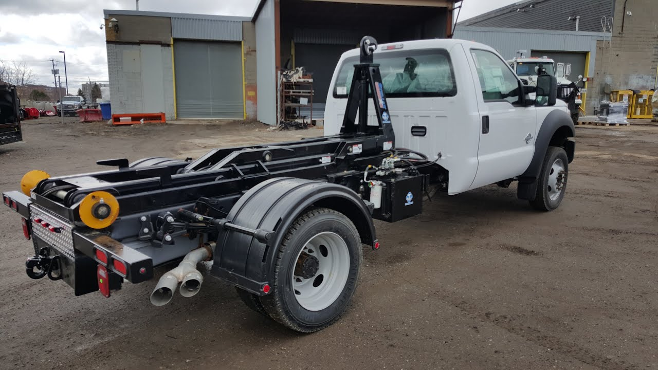 2016 Ford F 550 Stellar Hook Lift System Youtube