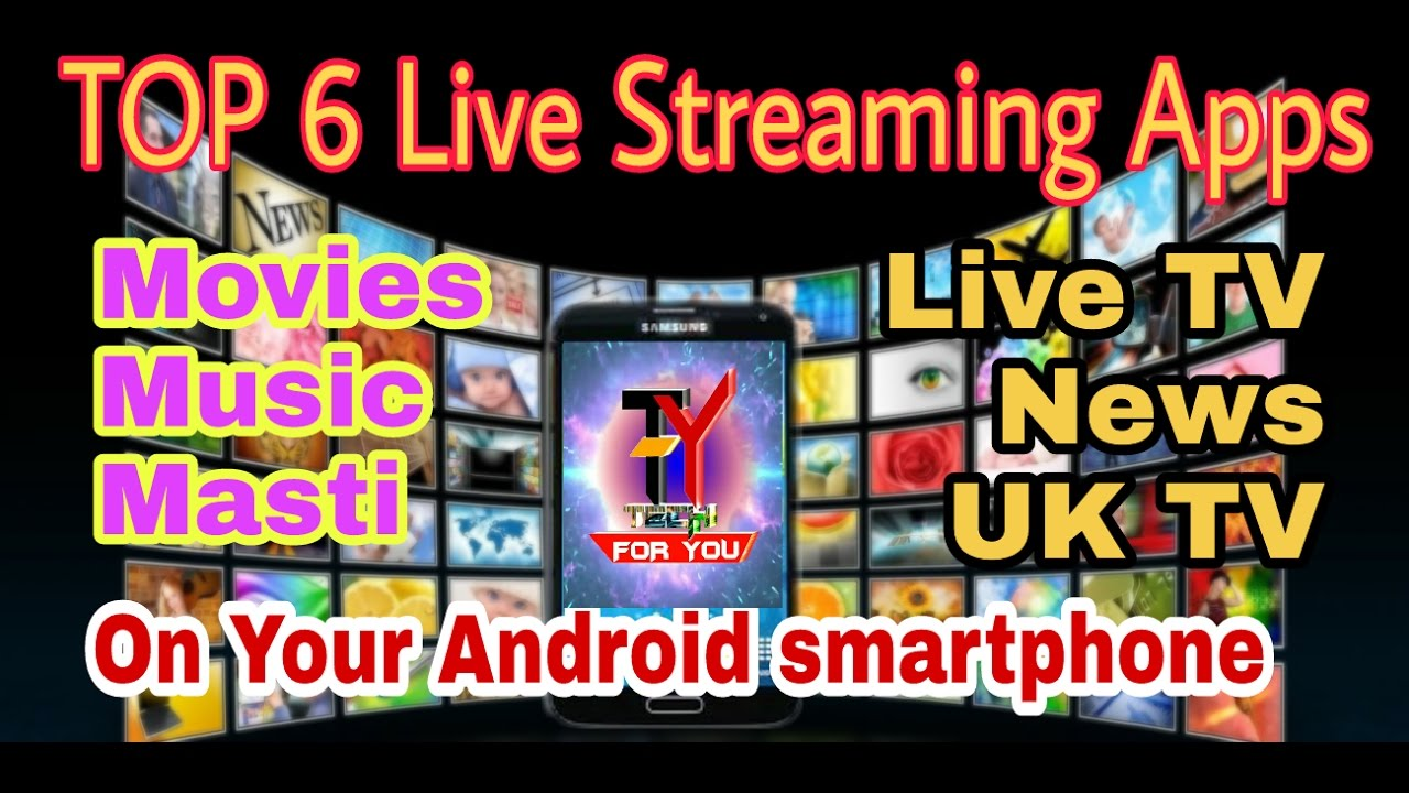 best tv streaming apps for android uk