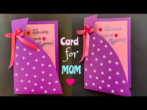 Mother's Day Handmade Card - Easy DIY