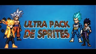 ULTRA PACK DE SPRITES #2 - Sprites Animations (Mega y Mediafire) 2018