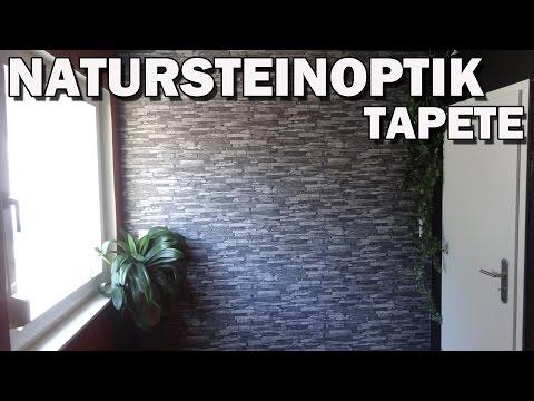 """""""NATURSTEINOPTIK TAPETE WOOD´N STONE"""" -Vorstellung"""