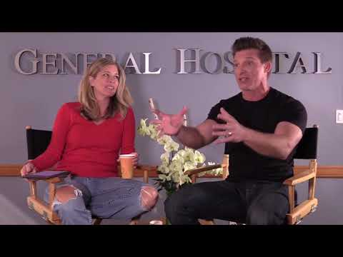 Laura Wright and Steve Burton Facebook Live 11/8/17