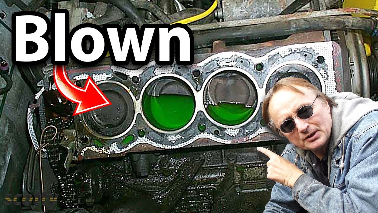 How to Tell if Your Head Gasket is Blown  YouTube