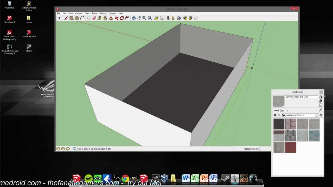 how to make a gmod map with sketchup