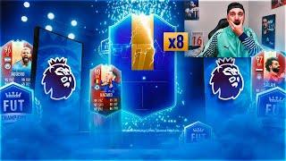 SALEN 8 TOTS DE LA PREMIER LEAGUE !! RECOMPENSAS DE FUT CHAMPIONS !! FIFA 19