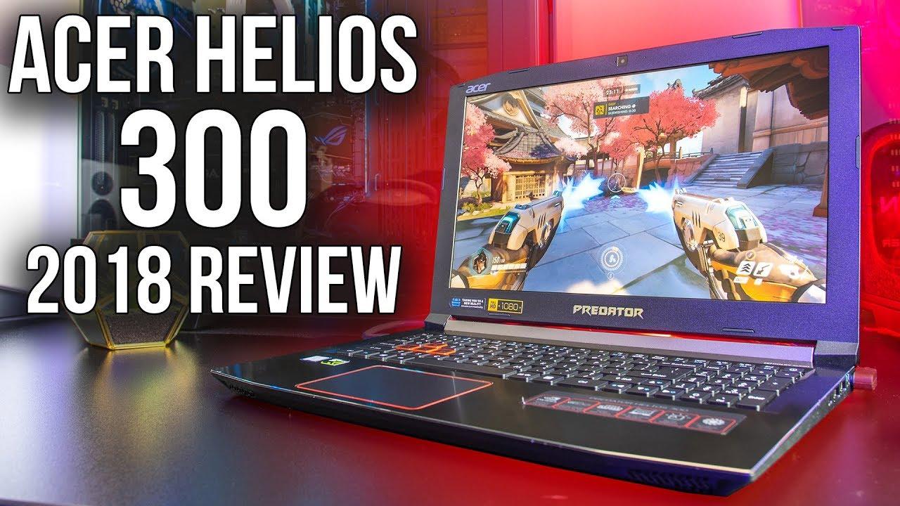 Acer Predator Helios 300 2018 Gaming Laptop Review
