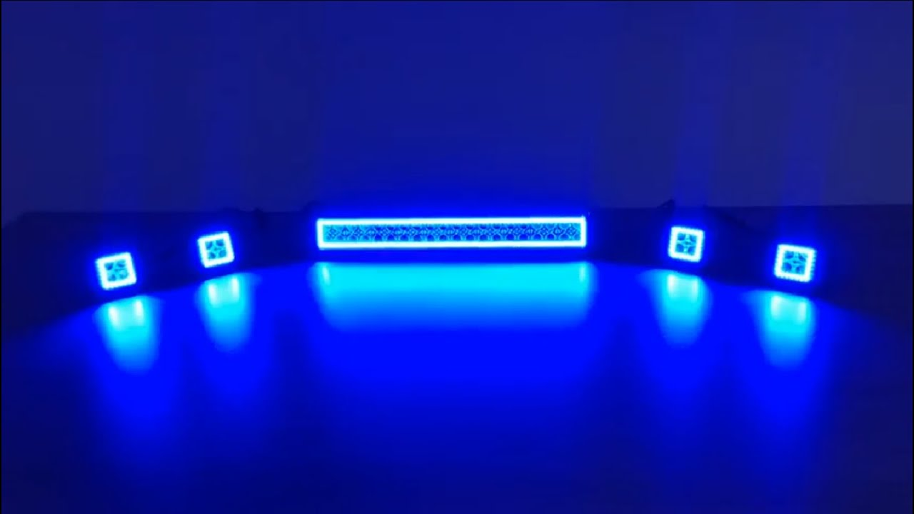 Led Light Bar Wireless Remote