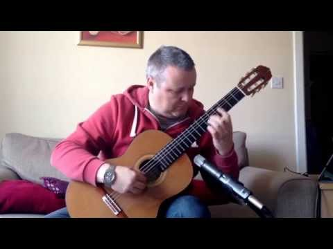 Barrios - Choro de saudade. Stephen Hill guitar.