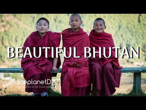 Bhutan Travel - Stunning Scenes  of the Land of Happiness in 4K
