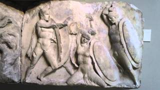 Warriors in Combat Nereid Monument British Museum London