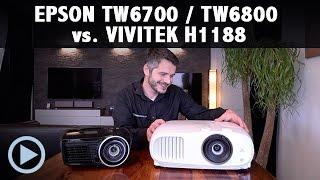 EPSON TW6700 / 6800 vs. VIVITEK H1188 Black Thunder Test