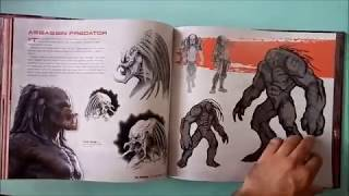 The Predator The Art and Making of the Film (UNBOXING)