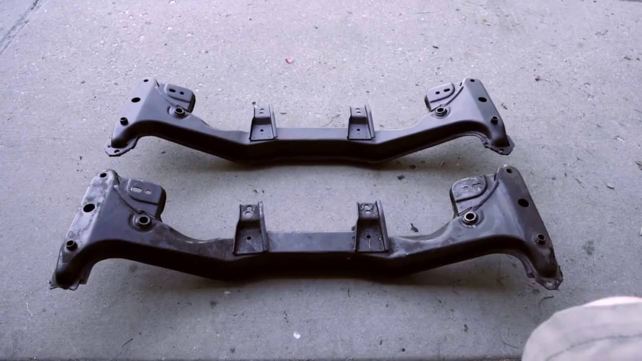 Garagistic How To Swap An E30 Front Subframe Youtube