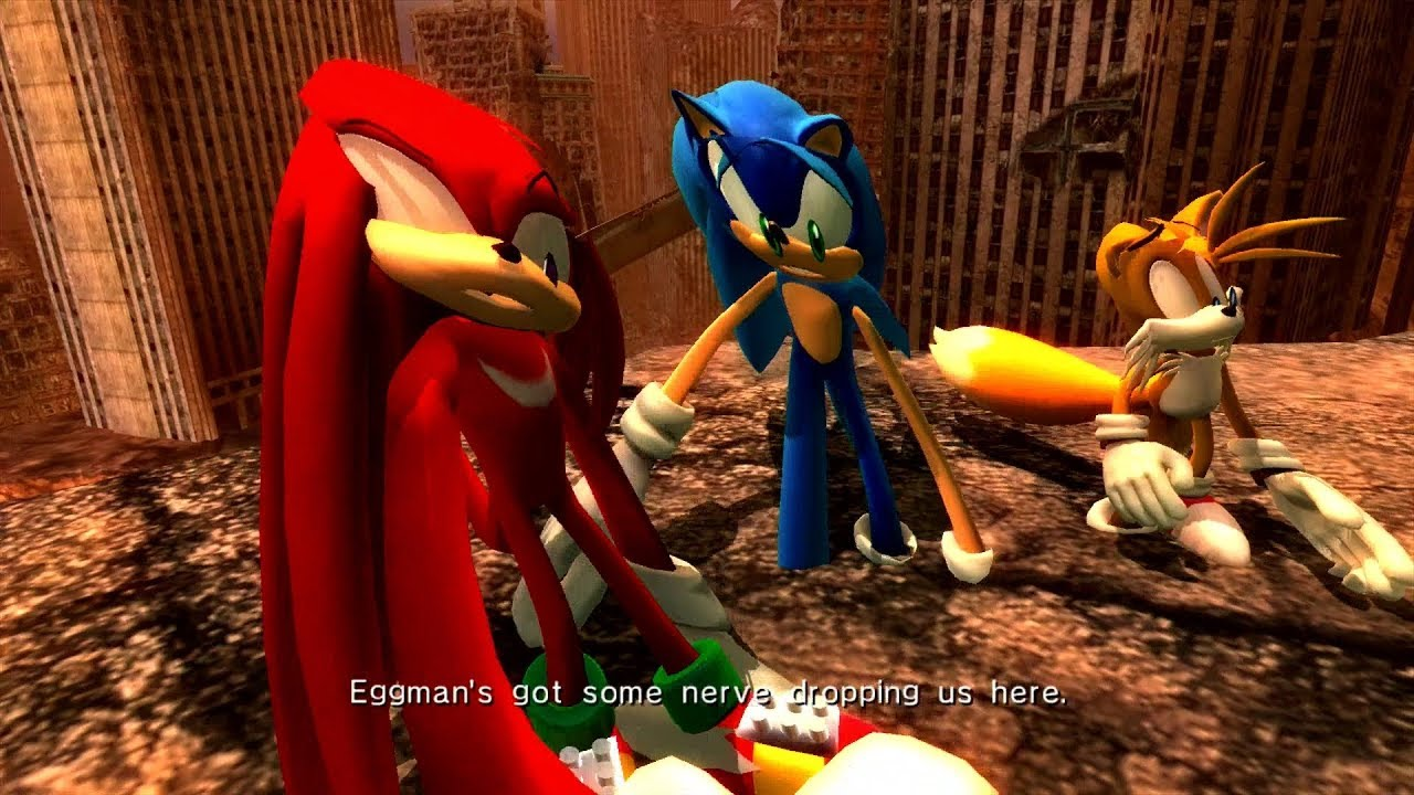 Sonic The Hedgehog 2006 How Can This Be Our Future Knuckles Youtube