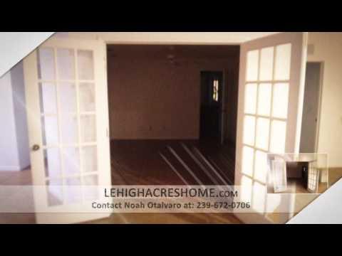 3 Bedroom, 2 Baths Lehigh Acres Home for Sale