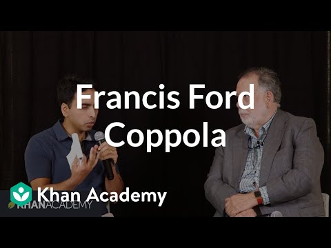 Sal Khan and Francis Ford Coppola fireside chat