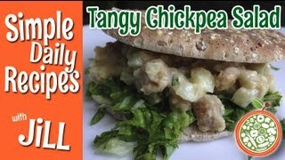 Tangy Chickpea Salad - Simple Daily Recipes