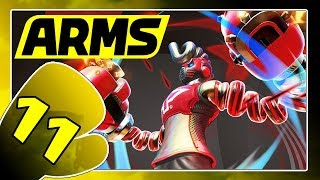 ARMS Part 11: Springtron, die Kampfmaschine