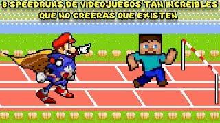 8 Speedruns de Videojuegos Tan INCREÍBLES que No Creerás que Existen - Pepe el Mago