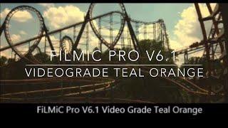 Videograde App Teal Orange Color Grade Tutorial