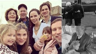 Jenna Bush Hager and Her Family Celebrate First Christmas in memory of George H.W. and Barbara Bush