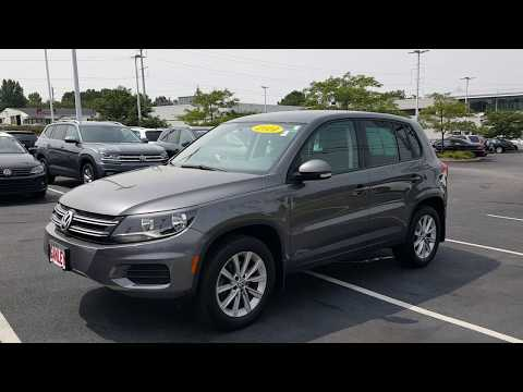 2014 Volkswagen Tiguan SE 4Motion For Sale Cleveland OH 19618T