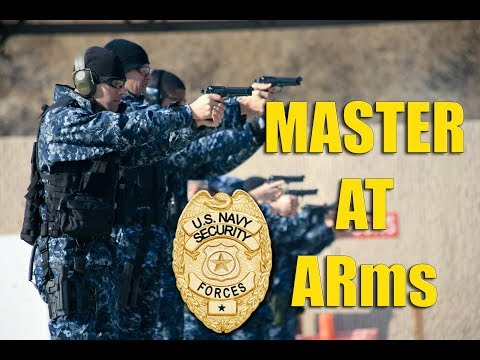Navy Jobs - MA Master At Arms (Military Police)