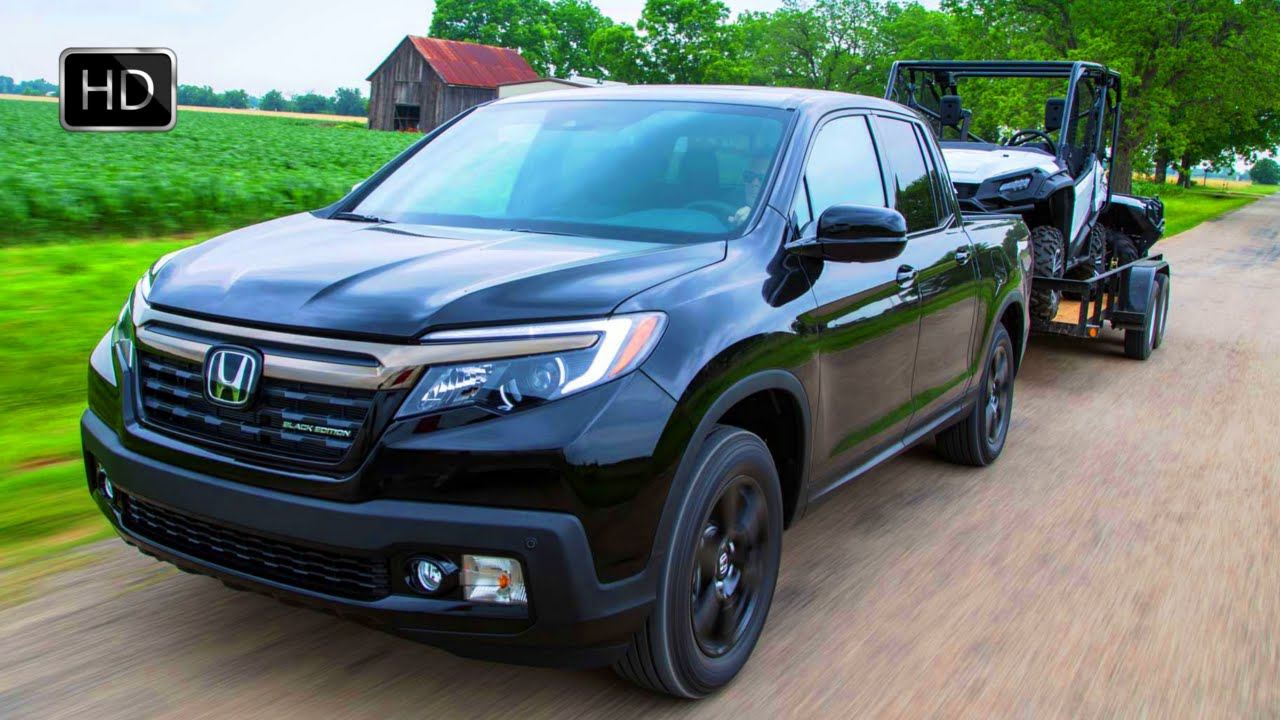 2017 honda ridgeline pickup truck black edition 4x4 exterior interior drive hd youtube. Black Bedroom Furniture Sets. Home Design Ideas